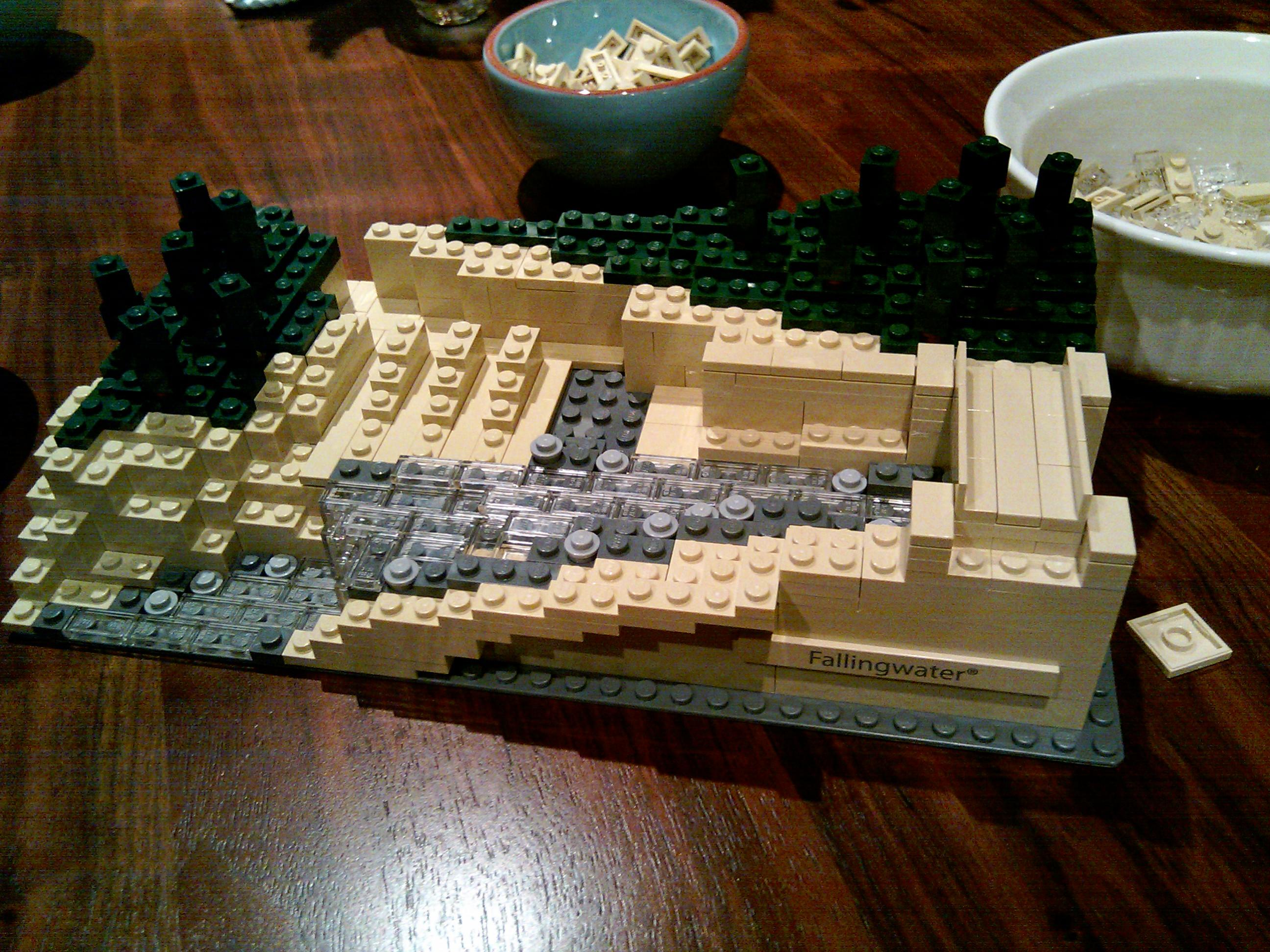 Falling water lego halfway matt on not wordpress - Falling waters lego ...