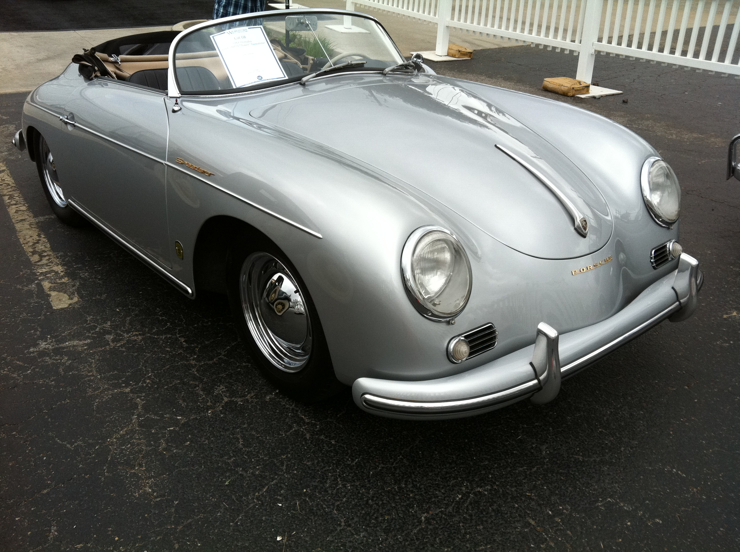 57 Porsche 1600s – Matt on Not-WordPress