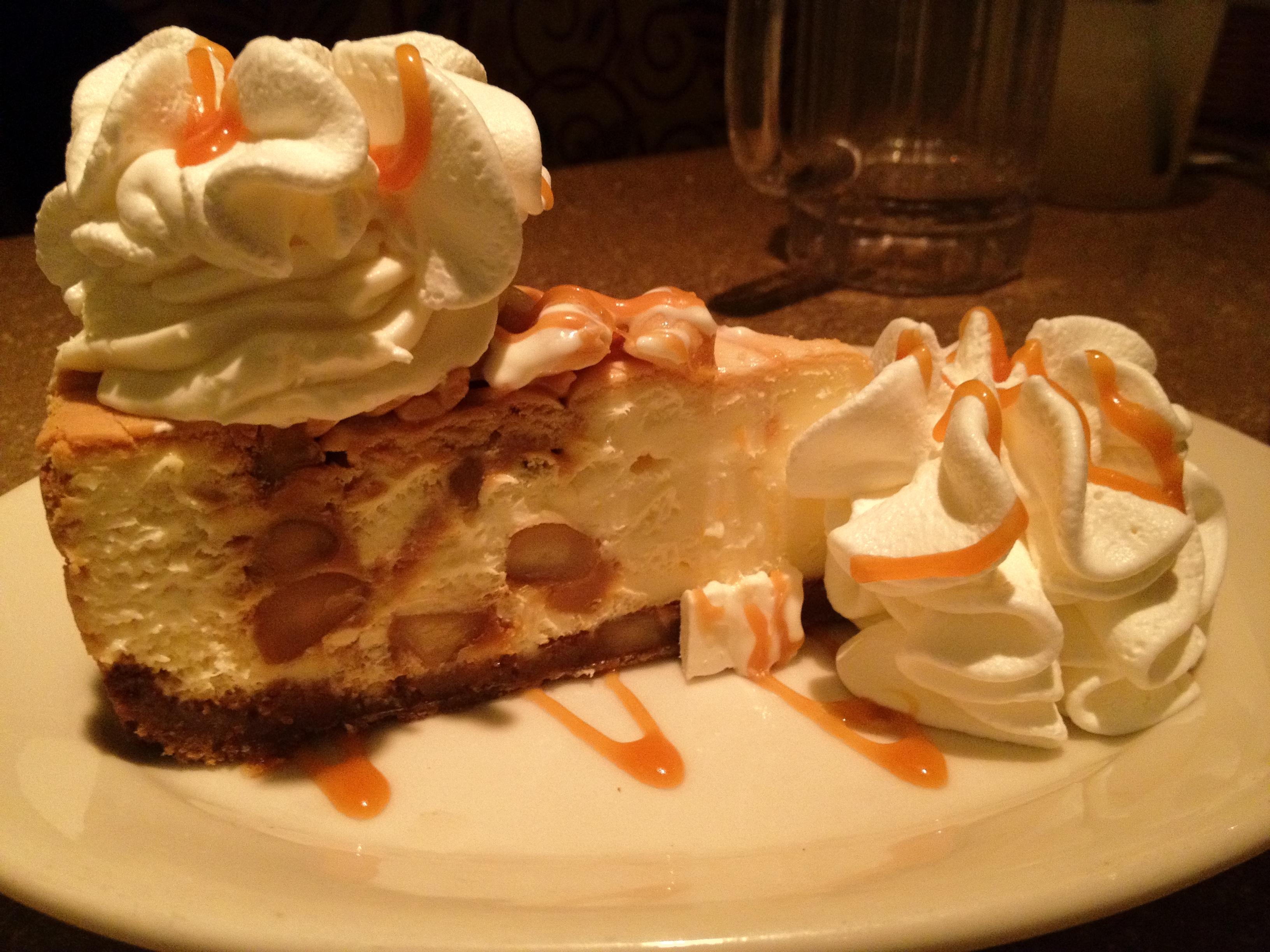White chocolate caramel macadamia nut cheesecake – Matt on ...